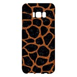 SKIN1 BLACK MARBLE & RUSTED METAL Samsung Galaxy S8 Plus Hardshell Case