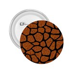SKIN1 BLACK MARBLE & RUSTED METAL (R) 2.25  Buttons