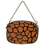 SKIN1 BLACK MARBLE & RUSTED METAL (R) Chain Purses (Two Sides)