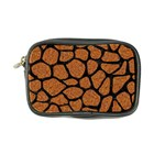 SKIN1 BLACK MARBLE & RUSTED METAL (R) Coin Purse