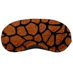 SKIN1 BLACK MARBLE & RUSTED METAL (R) Sleeping Masks Front