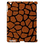 SKIN1 BLACK MARBLE & RUSTED METAL (R) Apple iPad 3/4 Hardshell Case (Compatible with Smart Cover)