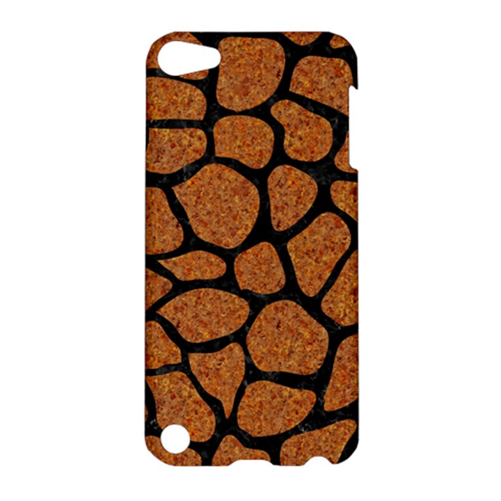 SKIN1 BLACK MARBLE & RUSTED METAL (R) Apple iPod Touch 5 Hardshell Case