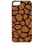 SKIN1 BLACK MARBLE & RUSTED METAL (R) Apple iPhone 5 Classic Hardshell Case