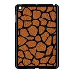 SKIN1 BLACK MARBLE & RUSTED METAL (R) Apple iPad Mini Case (Black) Front