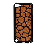 SKIN1 BLACK MARBLE & RUSTED METAL (R) Apple iPod Touch 5 Case (Black) Front