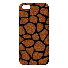 Skin1 Black Marble & Rusted Metal (r) Apple Iphone 5 Premium Hardshell Case