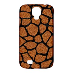 Skin1 Black Marble & Rusted Metal (r) Samsung Galaxy S4 Classic Hardshell Case (pc+silicone) by trendistuff