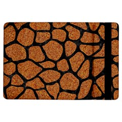 Skin1 Black Marble & Rusted Metal (r) Ipad Air Flip by trendistuff