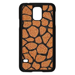 Skin1 Black Marble & Rusted Metal (r) Samsung Galaxy S5 Case (black)
