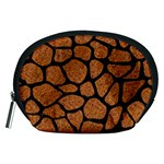 SKIN1 BLACK MARBLE & RUSTED METAL (R) Accessory Pouches (Medium)