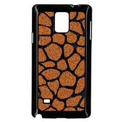 Skin1 Black Marble & Rusted Metal (r) Samsung Galaxy Note 4 Case (black) by trendistuff