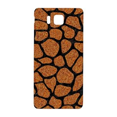 Skin1 Black Marble & Rusted Metal (r) Samsung Galaxy Alpha Hardshell Back Case by trendistuff