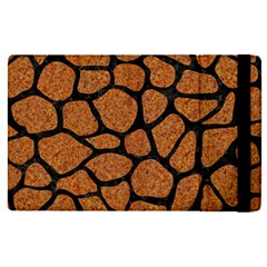 Skin1 Black Marble & Rusted Metal (r) Apple Ipad Pro 9 7   Flip Case by trendistuff