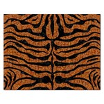 SKIN2 BLACK MARBLE & RUSTED METAL Rectangular Jigsaw Puzzl