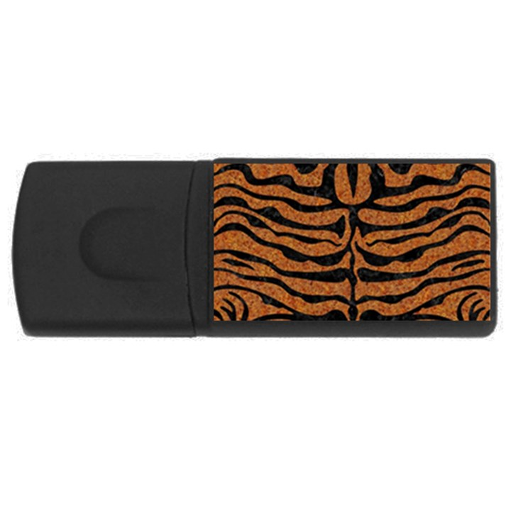 SKIN2 BLACK MARBLE & RUSTED METAL Rectangular USB Flash Drive