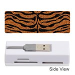 SKIN2 BLACK MARBLE & RUSTED METAL Memory Card Reader (Stick)