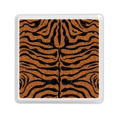 Skin2 Black Marble & Rusted Metal Memory Card Reader (square)  by trendistuff