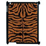 SKIN2 BLACK MARBLE & RUSTED METAL Apple iPad 2 Case (Black) Front