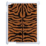 SKIN2 BLACK MARBLE & RUSTED METAL Apple iPad 2 Case (White)