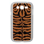 SKIN2 BLACK MARBLE & RUSTED METAL Samsung Galaxy Grand DUOS I9082 Case (White) Front