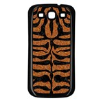 SKIN2 BLACK MARBLE & RUSTED METAL Samsung Galaxy S3 Back Case (Black)