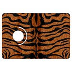 SKIN2 BLACK MARBLE & RUSTED METAL Kindle Fire HDX Flip 360 Case