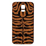 SKIN2 BLACK MARBLE & RUSTED METAL Samsung Galaxy S5 Back Case (White)
