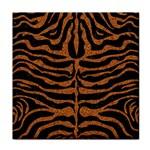 SKIN2 BLACK MARBLE & RUSTED METAL (R) Tile Coasters