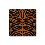 SKIN2 BLACK MARBLE & RUSTED METAL (R) Square Magnet