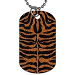 SKIN2 BLACK MARBLE & RUSTED METAL (R) Dog Tag (One Side)