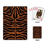 SKIN2 BLACK MARBLE & RUSTED METAL (R) Playing Card Back