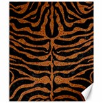 SKIN2 BLACK MARBLE & RUSTED METAL (R) Canvas 20  x 24   24 x20 Canvas - 1