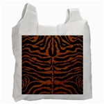 SKIN2 BLACK MARBLE & RUSTED METAL (R) Recycle Bag (One Side) Front