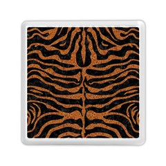Skin2 Black Marble & Rusted Metal (r) Memory Card Reader (square)  by trendistuff