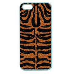 Skin2 Black Marble & Rusted Metal (r) Apple Seamless Iphone 5 Case (color)