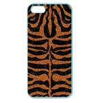 SKIN2 BLACK MARBLE & RUSTED METAL (R) Apple Seamless iPhone 5 Case (Color) Front