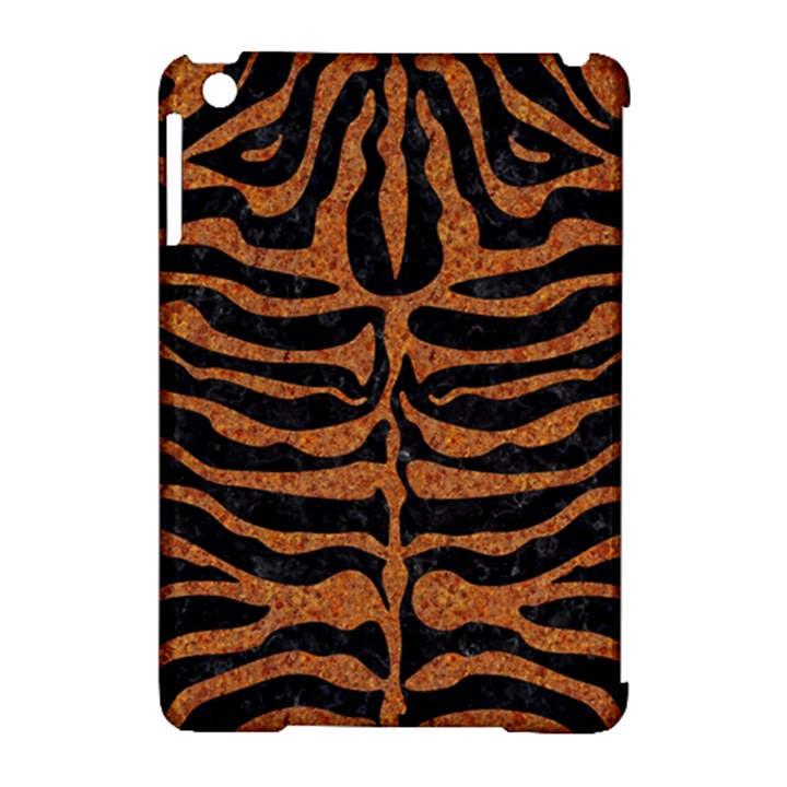 SKIN2 BLACK MARBLE & RUSTED METAL (R) Apple iPad Mini Hardshell Case (Compatible with Smart Cover)