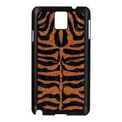 Skin2 Black Marble & Rusted Metal (r) Samsung Galaxy Note 3 N9005 Case (black) by trendistuff