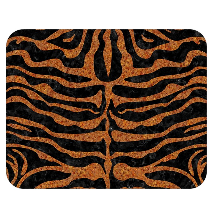 SKIN2 BLACK MARBLE & RUSTED METAL (R) Double Sided Flano Blanket (Medium)