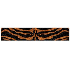 SKIN2 BLACK MARBLE & RUSTED METAL (R) Flano Scarf (Large)