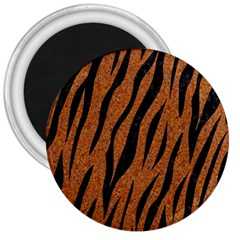 Skin3 Black Marble & Rusted Metal 3  Magnets by trendistuff