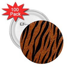 SKIN3 BLACK MARBLE & RUSTED METAL 2.25  Buttons (100 pack)