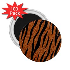 Skin3 Black Marble & Rusted Metal 2 25  Magnets (100 Pack)  by trendistuff