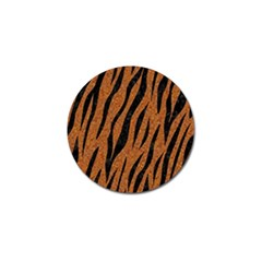 SKIN3 BLACK MARBLE & RUSTED METAL Golf Ball Marker (4 pack)