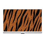 SKIN3 BLACK MARBLE & RUSTED METAL Business Card Holders Front