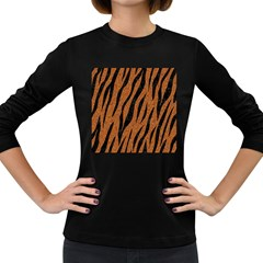 Skin3 Black Marble & Rusted Metal Women s Long Sleeve Dark T Shirts