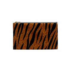 SKIN3 BLACK MARBLE & RUSTED METAL Cosmetic Bag (Small)