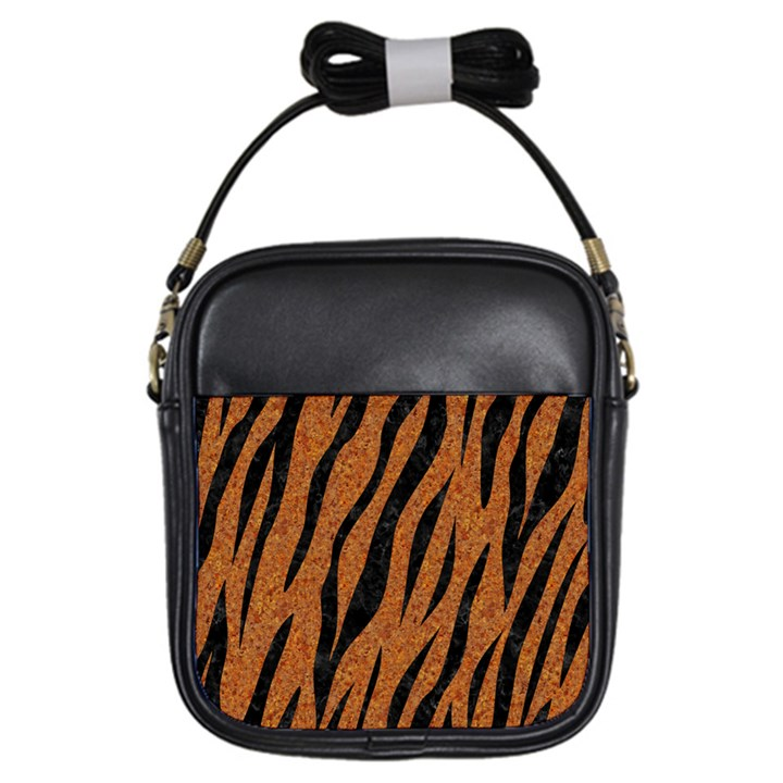 SKIN3 BLACK MARBLE & RUSTED METAL Girls Sling Bags