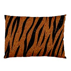 SKIN3 BLACK MARBLE & RUSTED METAL Pillow Case (Two Sides)
